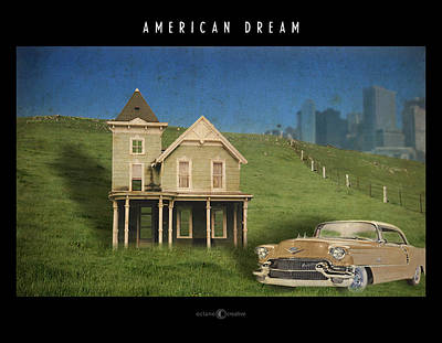 Digital Art - American Dream by Tim Nyberg