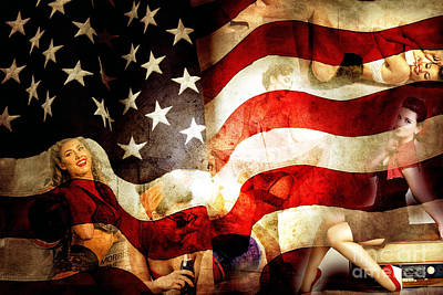 Digital Art - American Dreams by John Rizzuto