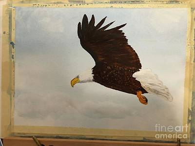 Painting - American Eagle by Donald Paczynski