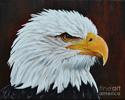 Painting - American Eagle by Jimmie Bartlett