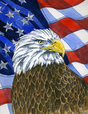 American Eagle Painting - American Eagle by Mark Jennings