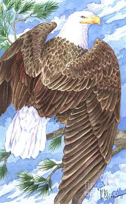 American Eagle Art Print by Paul Brent