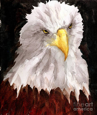 Painting - American Eagle by Rhonda Hancock