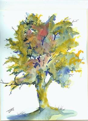 American Elm Tree Original by David Patrick