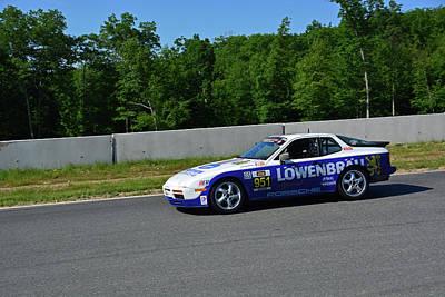 Photograph - American Endurance Racing Lowenbrau Porsche by Mike Martin