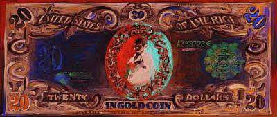 Currency Painting - American Engravings II 455 II by Mawra Tahreem