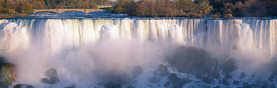 Fall Of River Photograph - American Falls Viewed From Canada by Panoramic Images