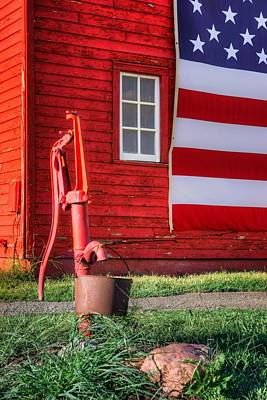 Photograph - American Farm - 1 by Nikolyn McDonald
