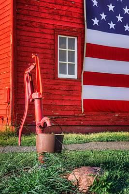Photograph - American Farm - 1 by Nikolyn McDonald