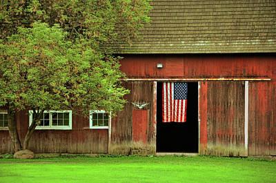 Photograph - American Farm by JAMART Photography