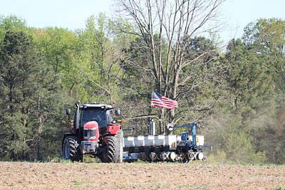 Latidude Image - American Farmer by Donna Gough