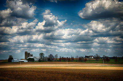Photograph - American Farmland by Dick Pratt
