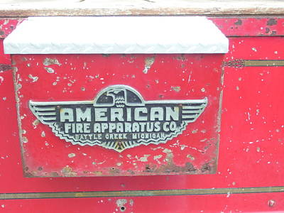 Vintage Baseball Players - American Fire Apparatus Co by Melinda Dare Benfield