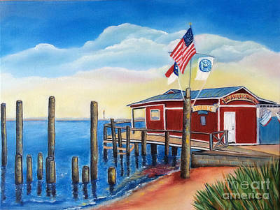 Painting - Old American Fish Co./ Safe Haven Ivan's by Shelia Kempf