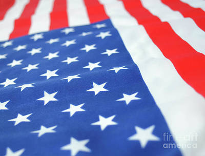 Photograph - American Flag 2 by Andrea Anderegg