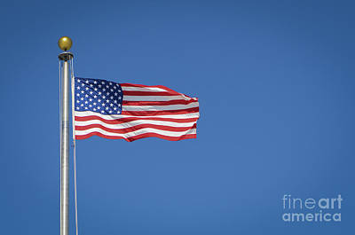 Photograph - American Flag by Andrea Silies