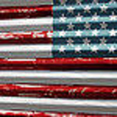 Billy Tucker Photograph - American Flag by Billy Tucker