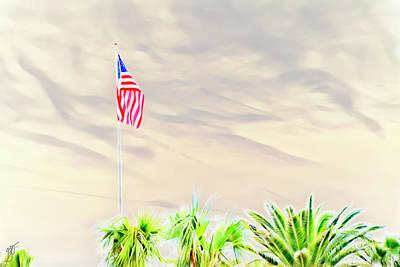 Photograph - American Flag by Gina O'Brien