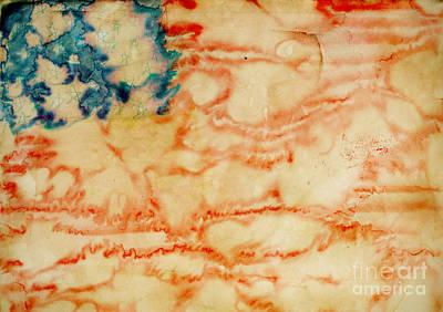 Painting - American Flag by Igor Kislev