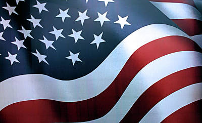 Photograph - American Flag by Kristin Elmquist