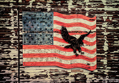 Photograph - American Flag by Leslie Montgomery