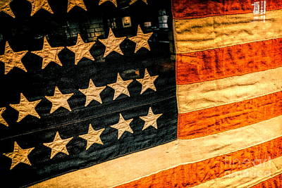 Photograph - American Flag Stars Strips by Kip Krause