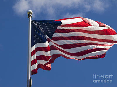 Photograph - American Flag by Tara Lynn