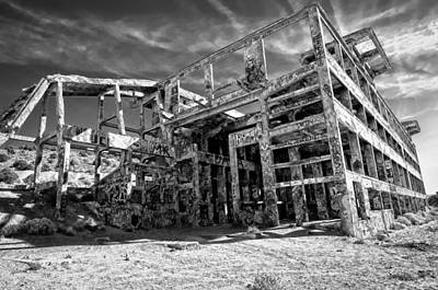 American Flat Mill Virginia City Nevada Art Print