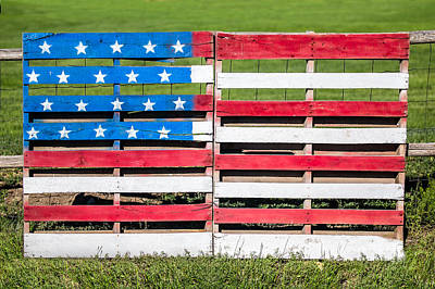 American Flag Photograph - American Folk Art by Todd Klassy
