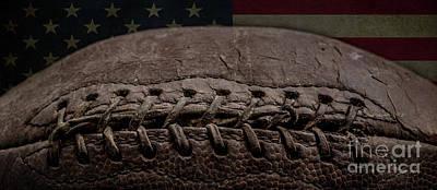 Photograph - American Football Mug by Edward Fielding