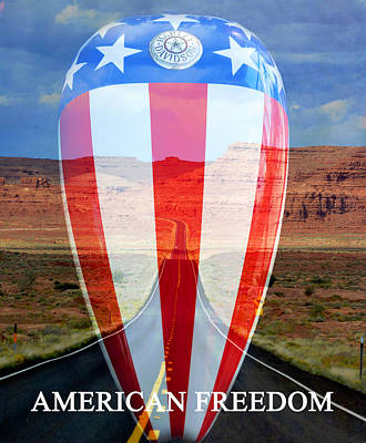 Photograph - American Freedom by David Lee Thompson