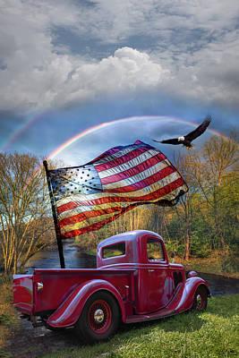 Photograph - American Freedom by Debra and Dave Vanderlaan