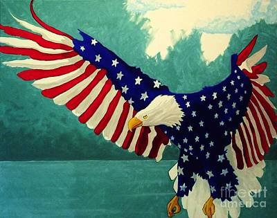 Painting - American Glory by Kyle  Brock