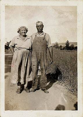 Photograph - American Gothic Circa 1935 by JAMART Photography