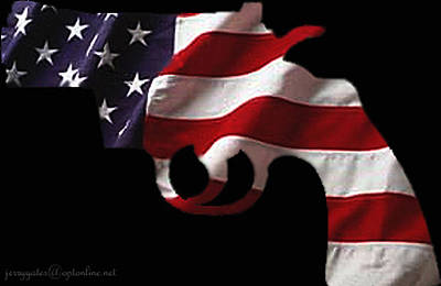 Gun Wall Art - Photograph - American Gun by Gerard Yates