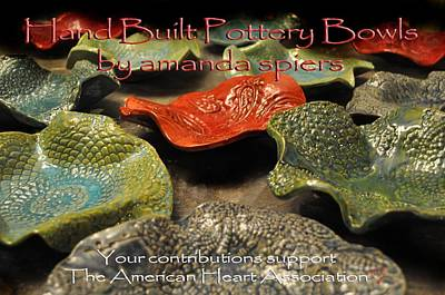 American Heart Association Bowls Original by Amanda  Sanford