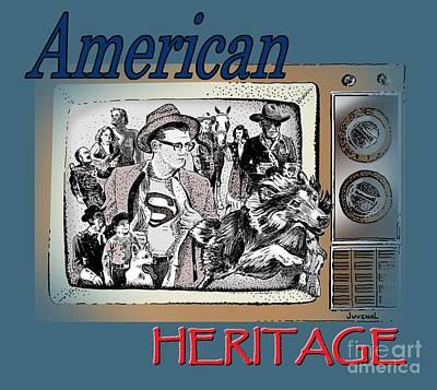 American Heritage Print by Joseph Juvenal