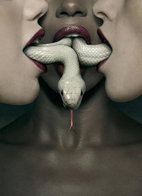 Horror Digital Art - American Horror Story Coven 2013 by Fine Artist