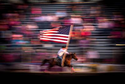 American Horse Glory Art Print