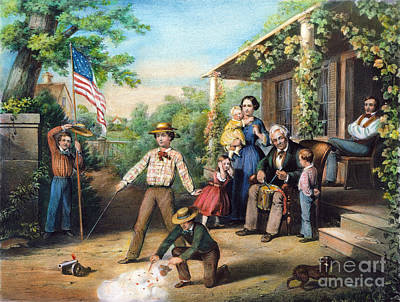 American Independence 1859 Art Print by Granger