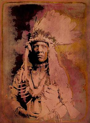 Photograph - American Indian by Bonfire Photography