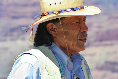 Photograph - American Indian by Carl Purcell