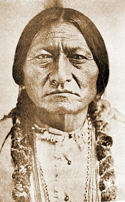 Photograph - American Indian Chief by Gary Wonning