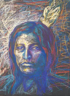 Painting - American Indian by Marcia Hochstetter