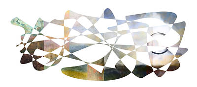 Oversized Art Digital Art - American Intellectual 10 by David Bridburg