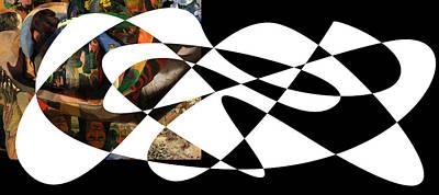 Complexity Digital Art - American Intellectual 5 by David Bridburg