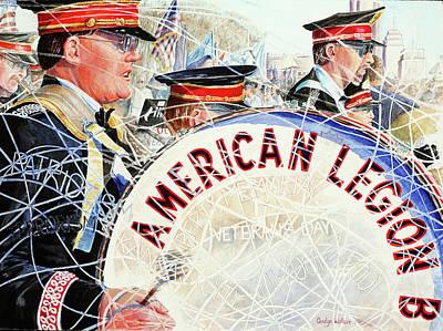 American Legion Art Print by Carolyn Coffey Wallace