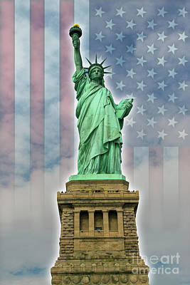 Digital Art - American Liberty by Timothy Lowry