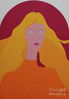 Painting - American Lisa by Art Mantia