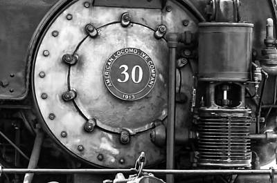 Photograph - American Locomotive Company #30 by Scott Hansen